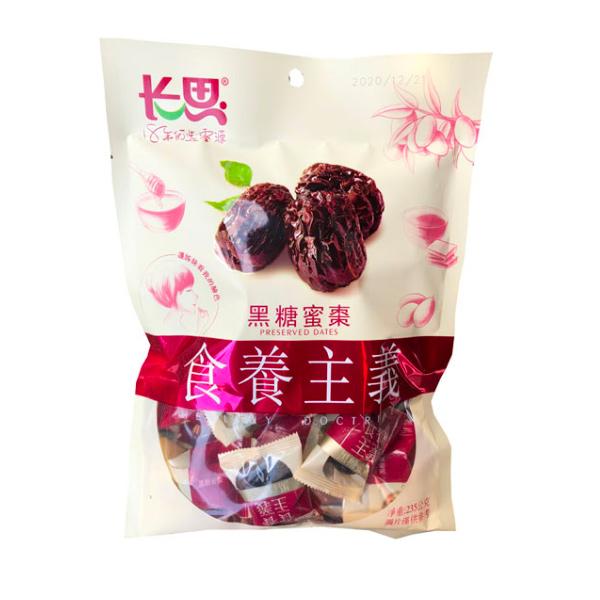 長思黑糖蜜棗235g-全素