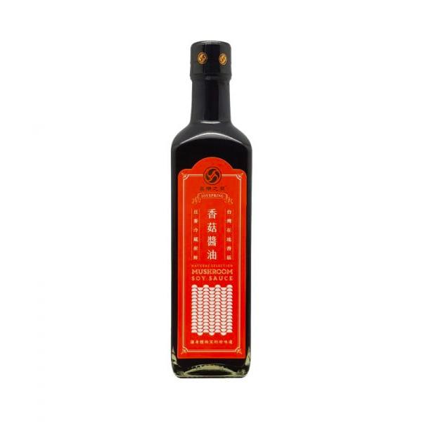 喜樂之泉天然香菇醬油500ml-全素