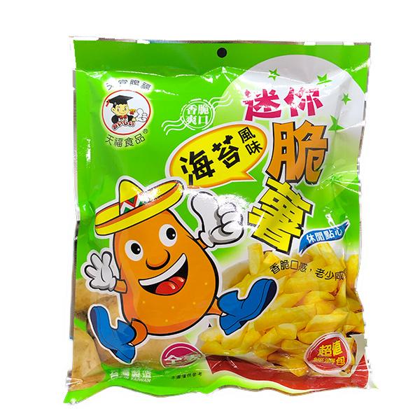 天福迷你脆薯海苔-全素