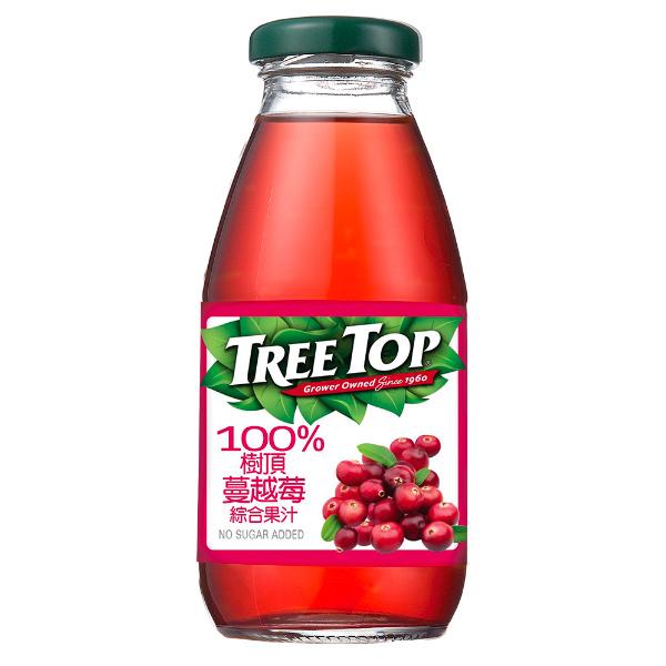 Treetop100%樹頂蔓越莓綜合果汁300ml-全素