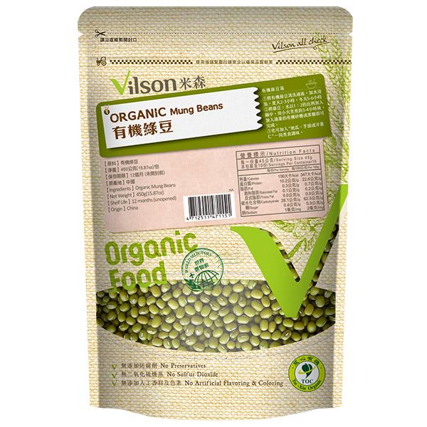 米森有機綠豆450g-全素