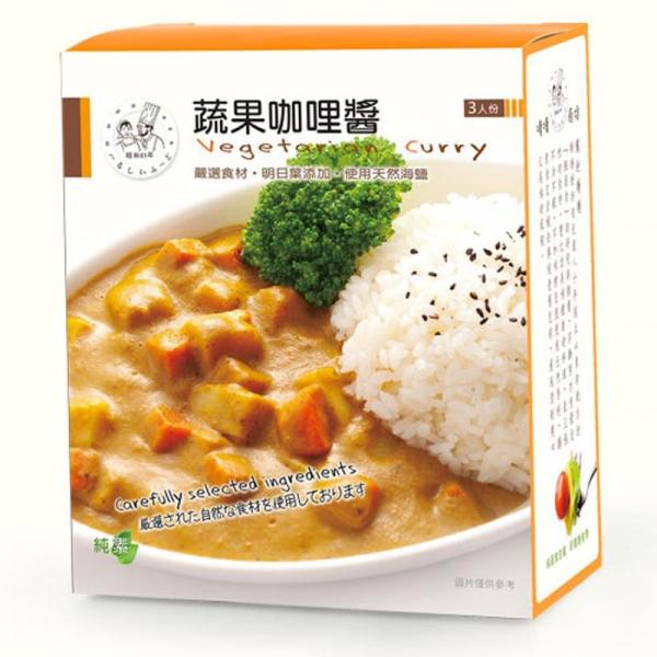 塘塘廚坊蔬果咖哩醬150g*3入-全素