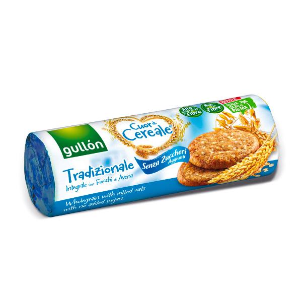 Gullón穀優無添加糖穀物餅乾-全素