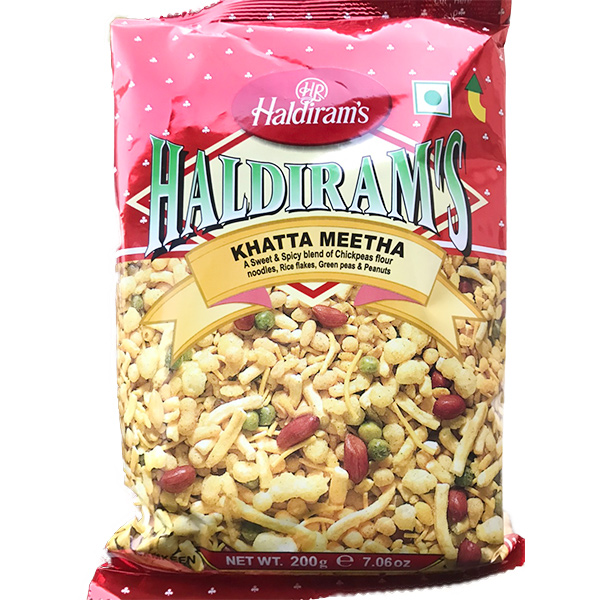 Haldirams 哈帝朗印度酸甜什錦豆點心-全素