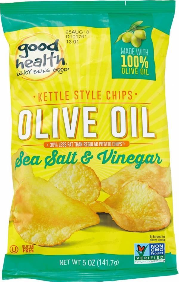 健康主義橄欖油海鹽油醋洋芋片-全素