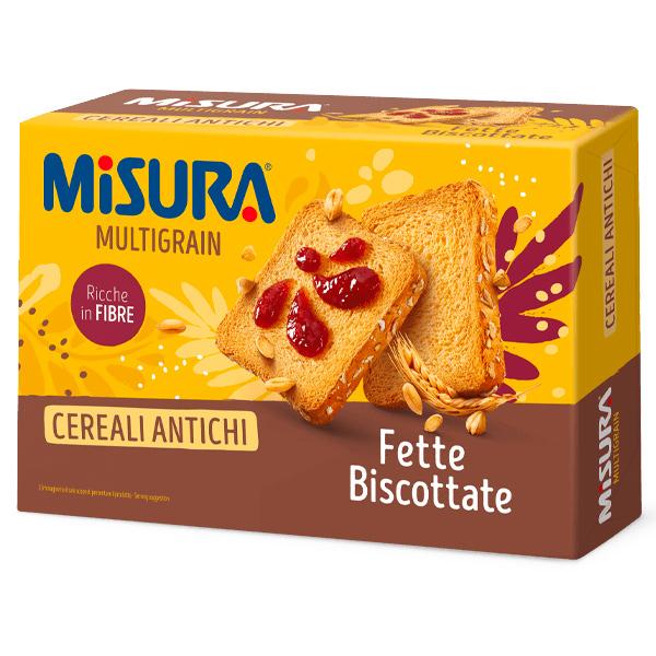 MISURA優穀香烤吐司片-全素