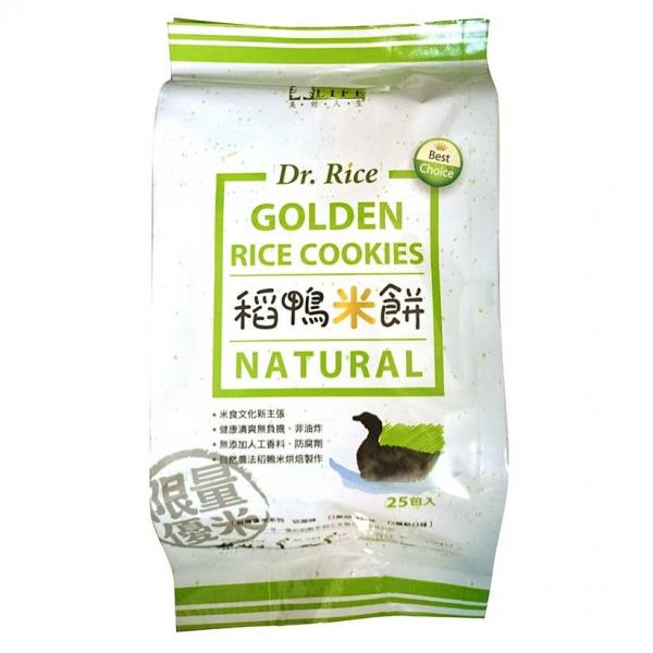 美好人生Dr.Rice稻鴨米餅(原味)75g-全素