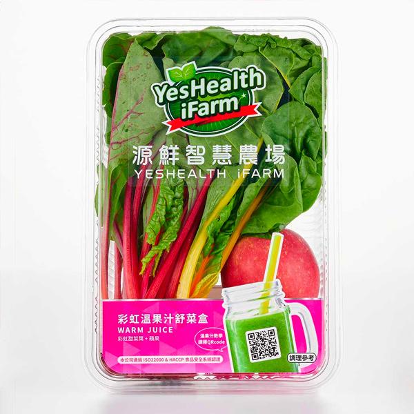 源鮮彩虹溫果汁舒菜盒340g