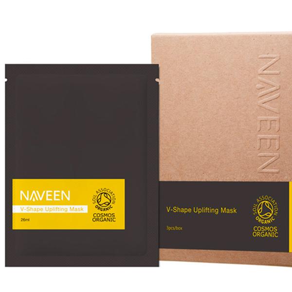 Naveen V型拉提面膜(有機棉)