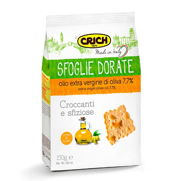 CRICH克里奇義大利思福雅金黃薄餅150g-奶素