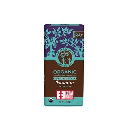 公平貿易有機濃黑巧克力80%-全素