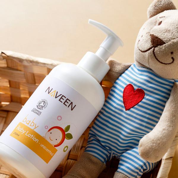 Naveen寶寶無添加身體乳