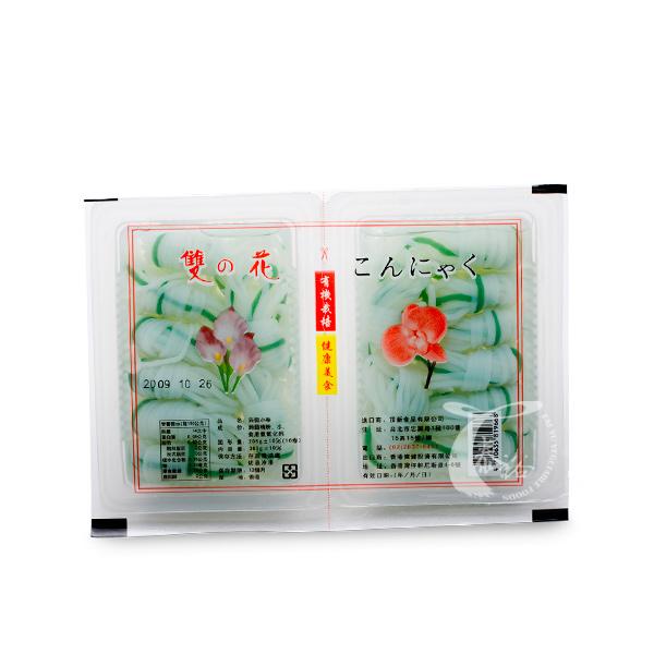 喜蓮來雙花蒟蒻小卷(盒)-全素