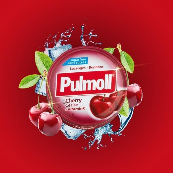 Pulmoll無糖潤喉糖20g(櫻桃)-全素