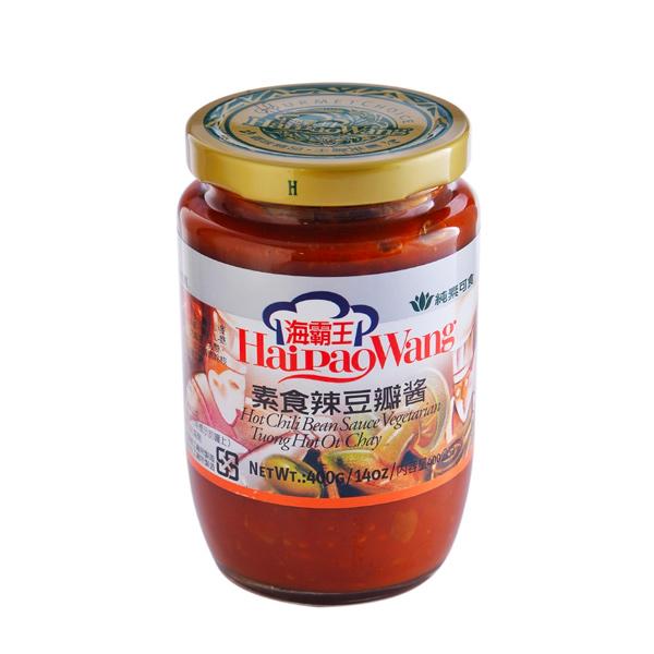 海霸王素食辣豆瓣醬
