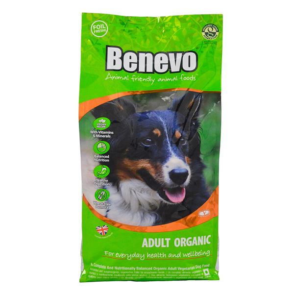Benevo英國有機犬飼料-全素