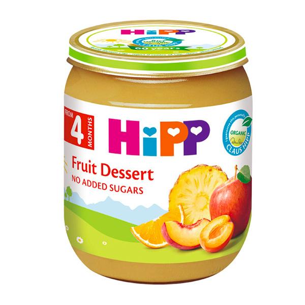 HiPP喜寶有機陽光綜合水果泥125g-全素