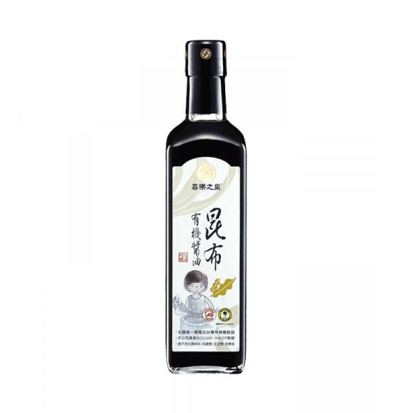 喜樂之泉有機昆布醬油210ml-全素