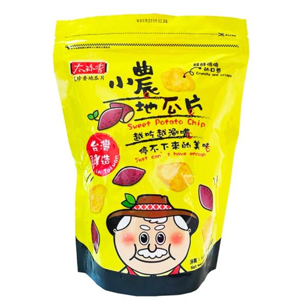 青農地瓜片120g-全素