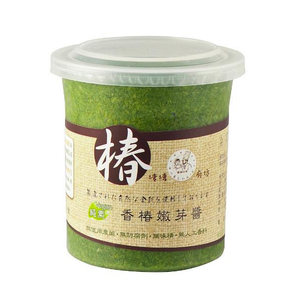 塘塘香椿嫩芽醬310g-全素