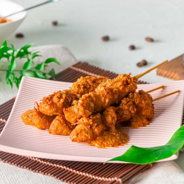 大瑪素沙嗲450g(10支)-全素 素沙嗲, 南洋素食, 南洋蔬食