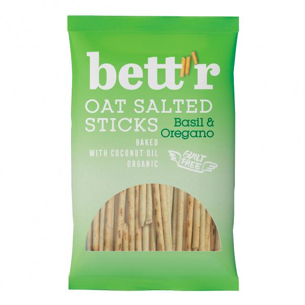 Bett'r高纖燕麥棒(羅勒&奧勒岡葉)50g-全素