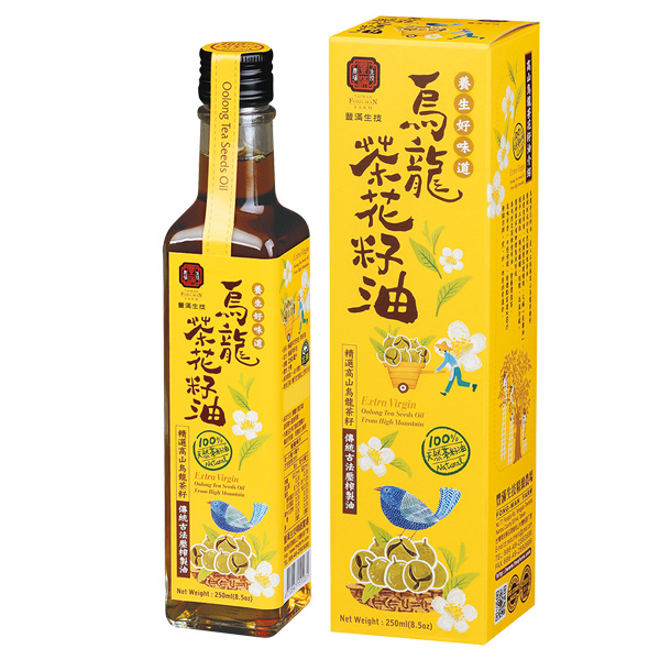 豐滿生技烏龍茶花籽油-全素