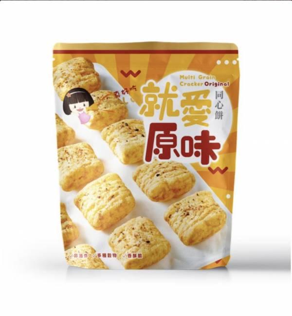 十穀米同心餅(就愛原味)-奶素