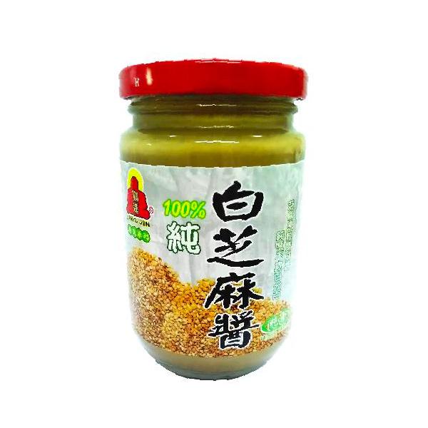 精進養身純白芝麻醬280g-全素