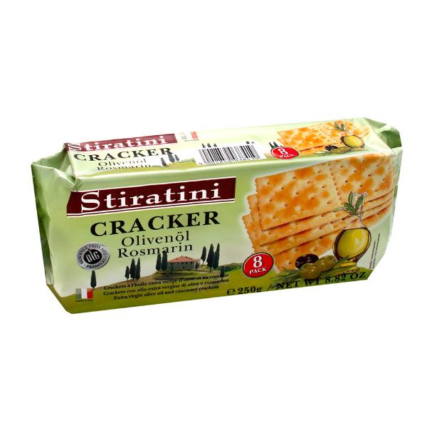 Stiratini橄欖油迷迭香蘇打餅250g-全素