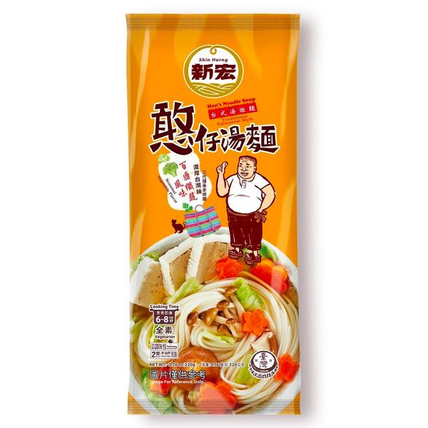 憨仔湯麵(百匯鮮蔬)220g-全素