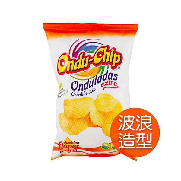 飛寶TOP CHIP洋芋片(波浪造型)35g-全素
