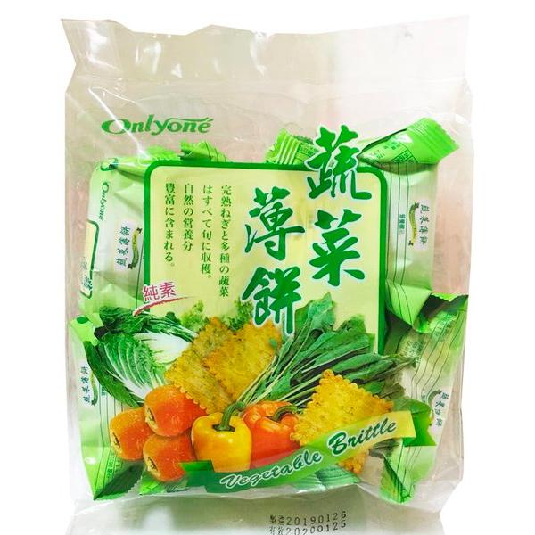 Onlyone蔬菜薄餅-全素