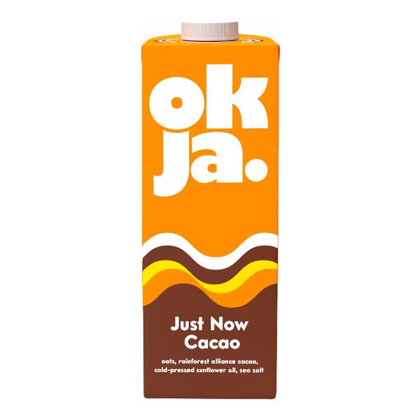 OKJA醇濃可可燕麥奶1000ml-全素
