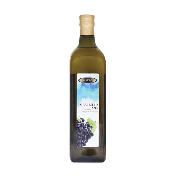 MACRO100%葡萄籽油1L-全素