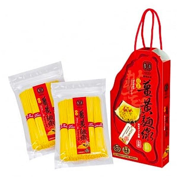 豐滿生技薑黃麵線禮盒(500g*2)-全素