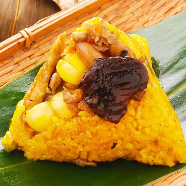 豐滿生技紅薑黃養生粽-全素
