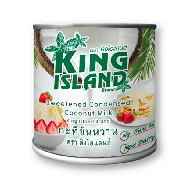 國王島椰子煉乳360g/罐-全素