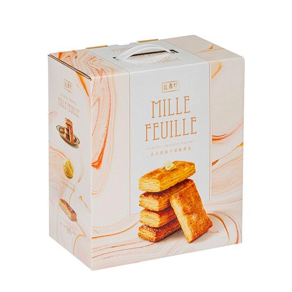 盛香珍法式奶油千層酥禮盒-蛋奶素