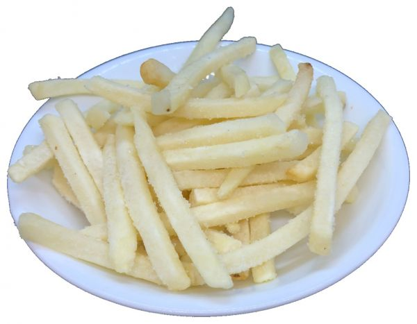 金牌冷凍細薯條320G-全素