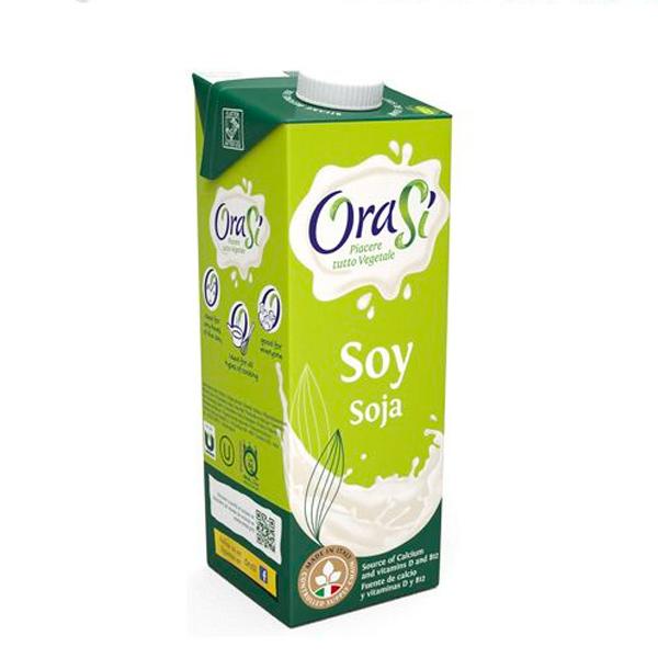 歐瑞仕Orasi大豆飲1L(無添加糖)-全素