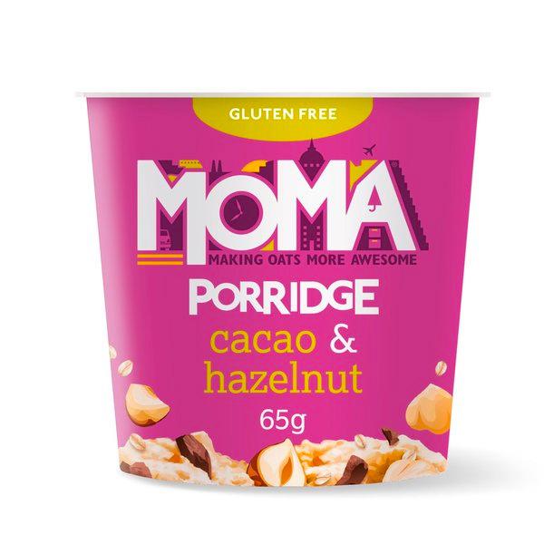 MOMA可可榛果大燕麥粥55g-奶素