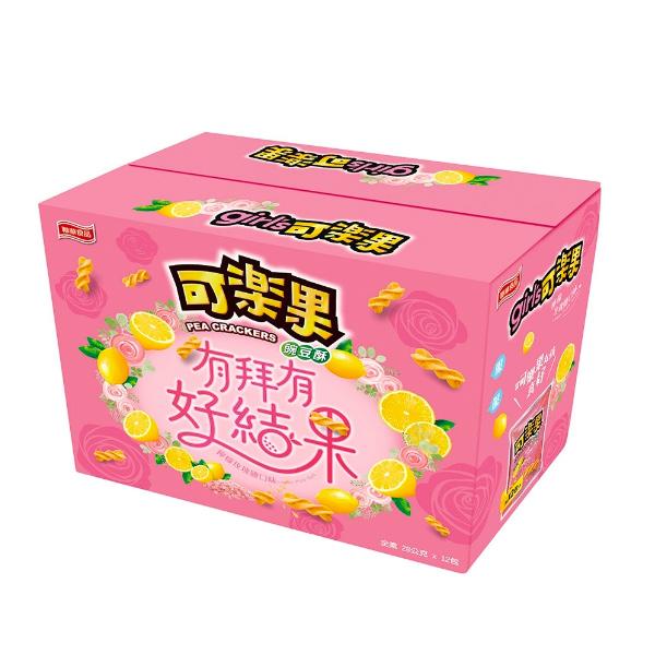 聯華玫瑰鹽可樂果拜拜箱12入-全素