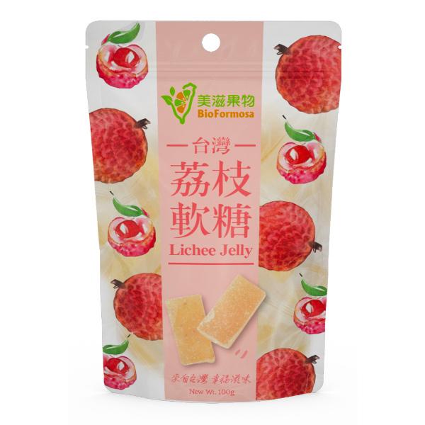 美滋果物荔枝果汁軟糖-全素