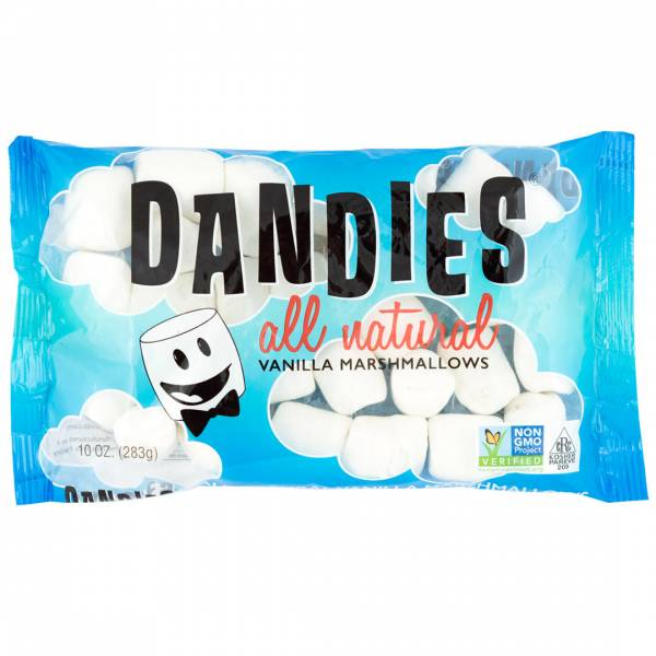 丹迪斯純素棉花糖經典香草口味283G