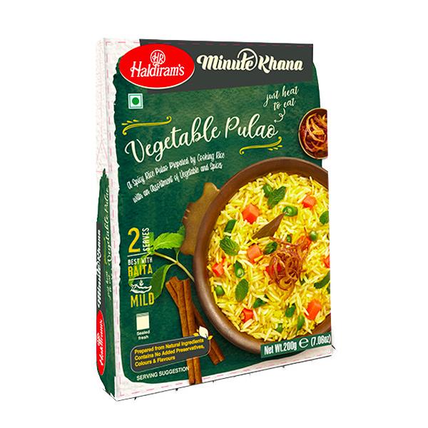 Haldirams 哈帝朗印度蔬菜香料飯-全素