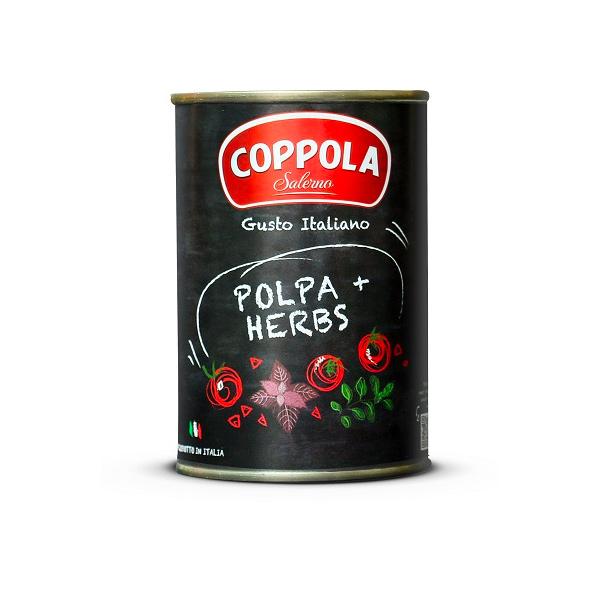 義大利COPPOLA羅勒切丁番茄基底醬(無鹽)-全素