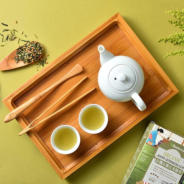 米森有機京都玄米綠茶(3g x8包/盒)-全素