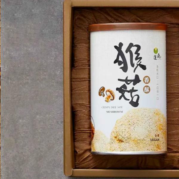 蓮廚春菊暖陽禮盒(猴菇+海苔)香鬆2入-全素