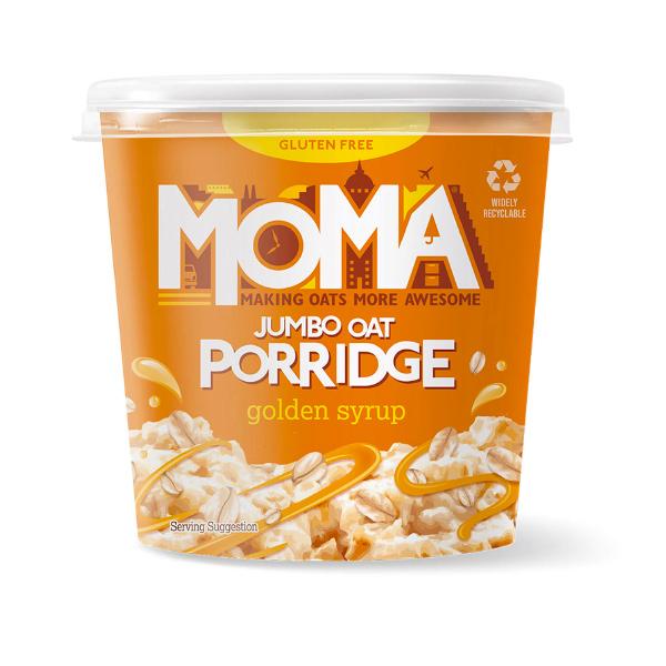 MOMA海鹽焦糖風味杏仁大燕麥粥55g-全素